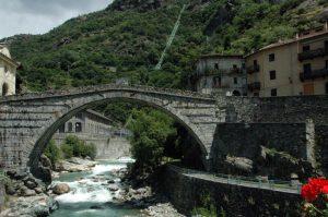 ponte Romano Pont-Saint-Martin